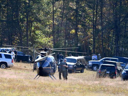 Search goes on at property of confessed killer in S.C.