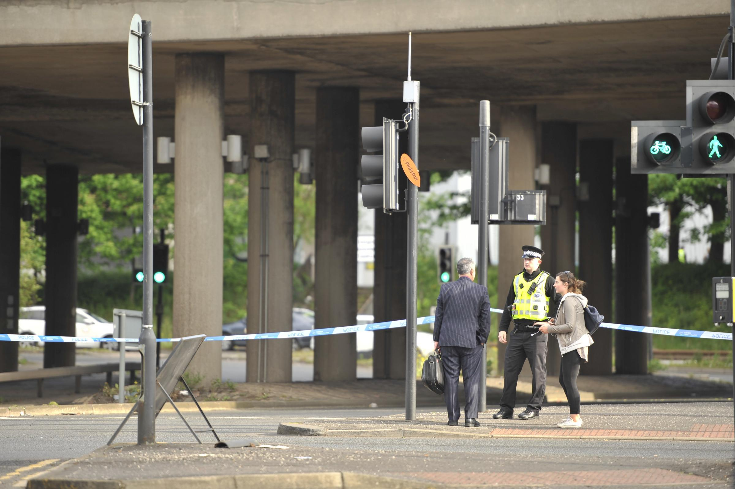 Man shot in face during late-night attack near M8