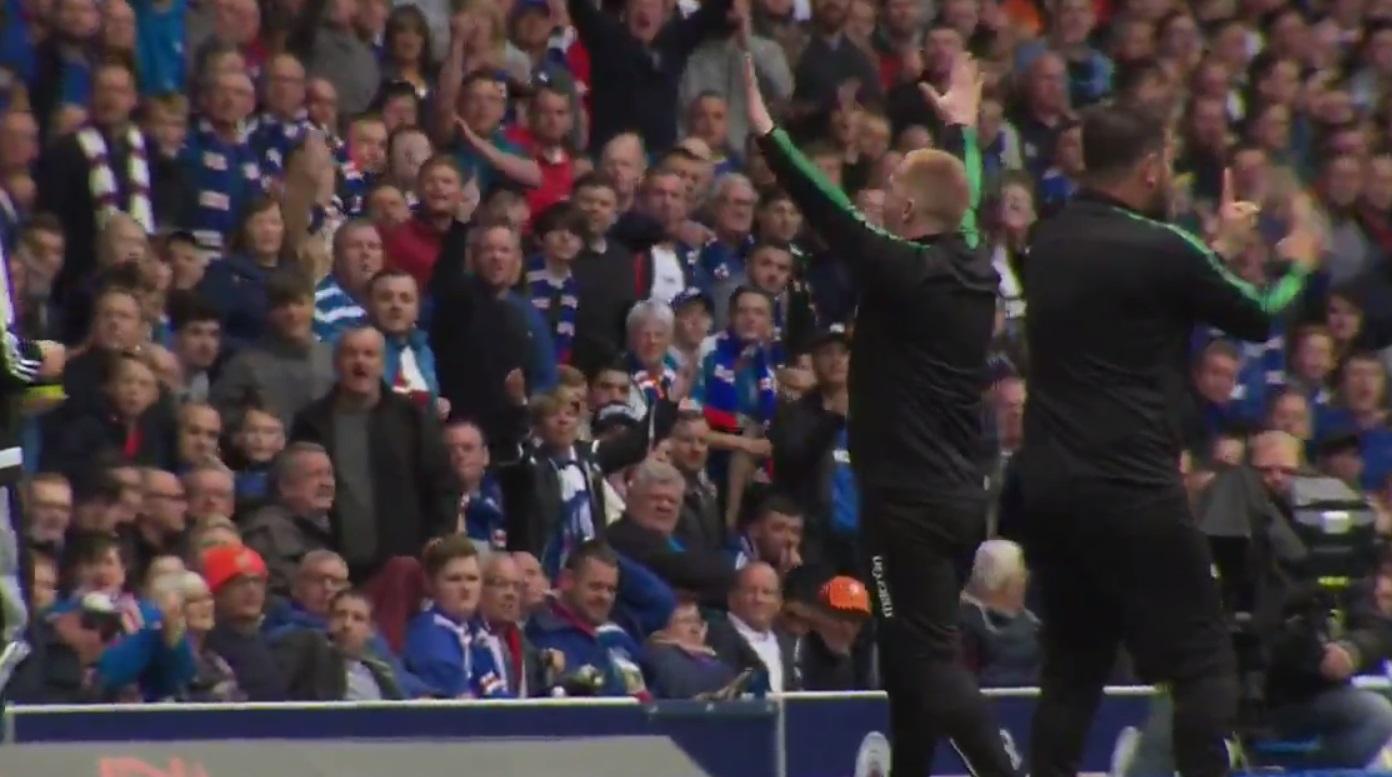 Scottish Police Investigate Complaints Abut Neil Lennon's Behaviour Toward Rangers Fans