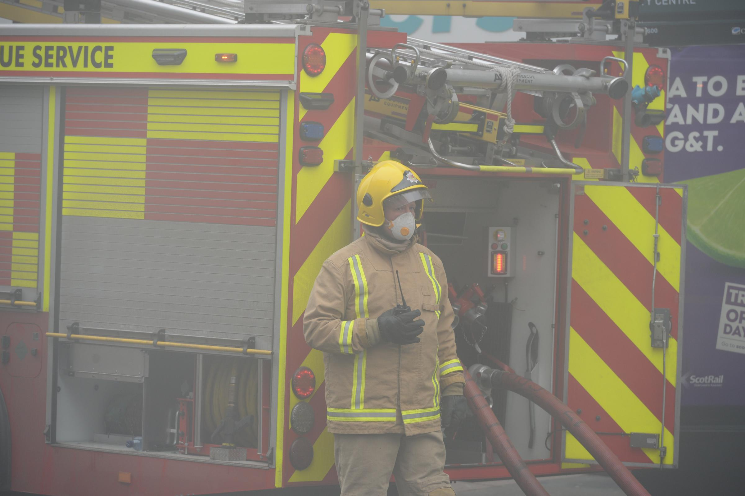 Glasgow blaze `one of the biggest´ firefighters have faced
