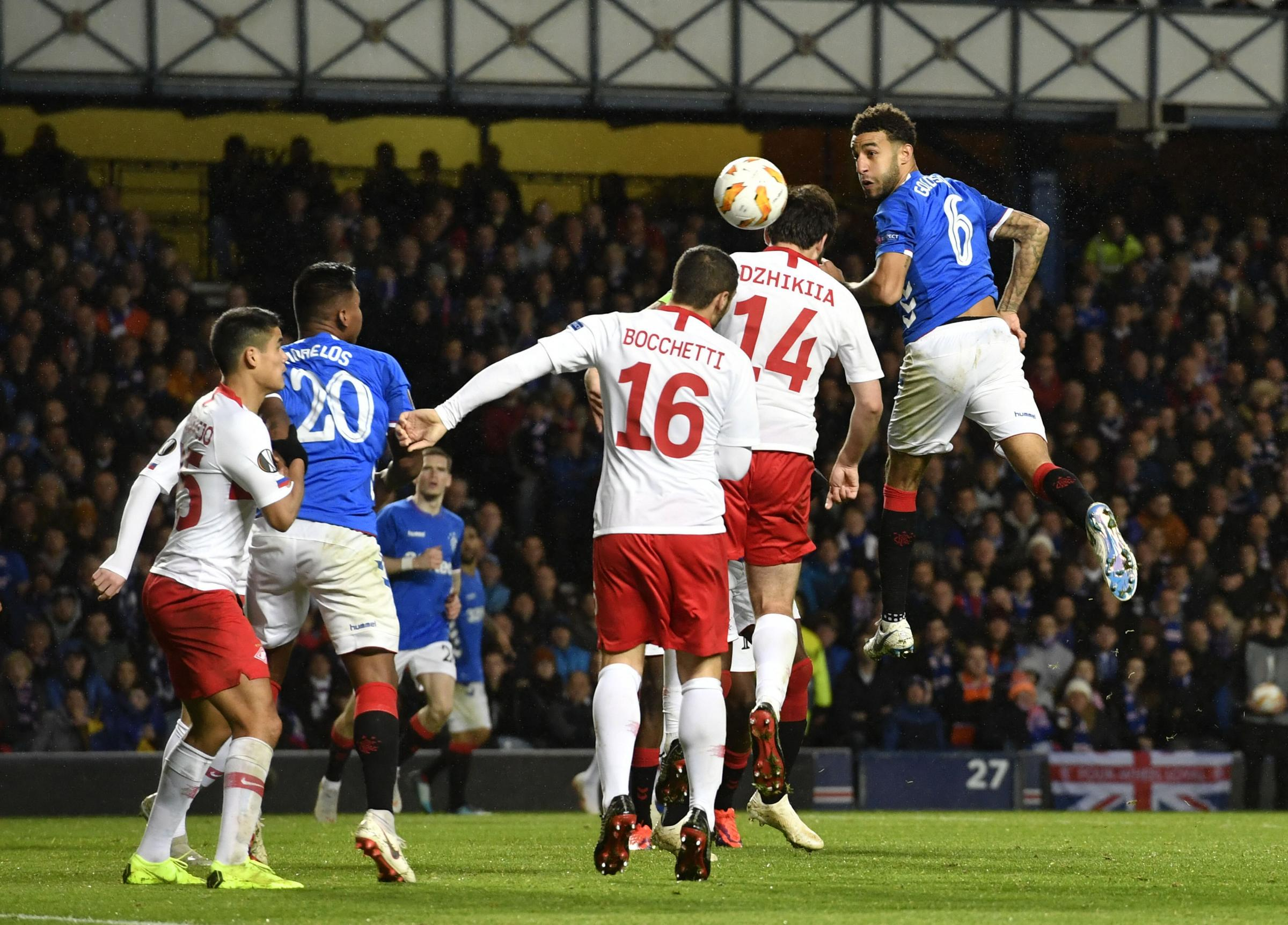 Dons beat Gers to reach League Cup final